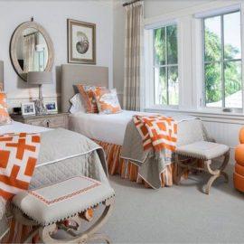 Оранжева спалня