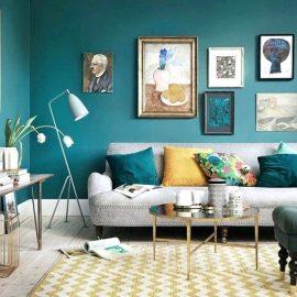 сини стени