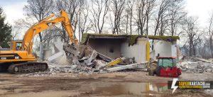 събаряне на стари сгради