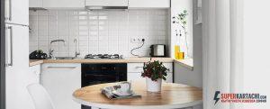малка светла кухня
