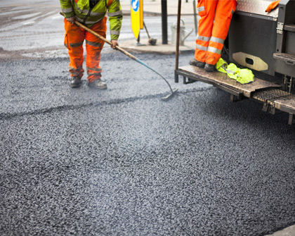 асфалтиране на улица