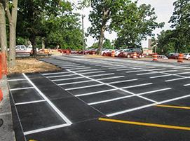 асфалтиране на паркинги