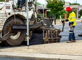 асфалтиране на улици