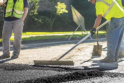 асфалтиране на двор