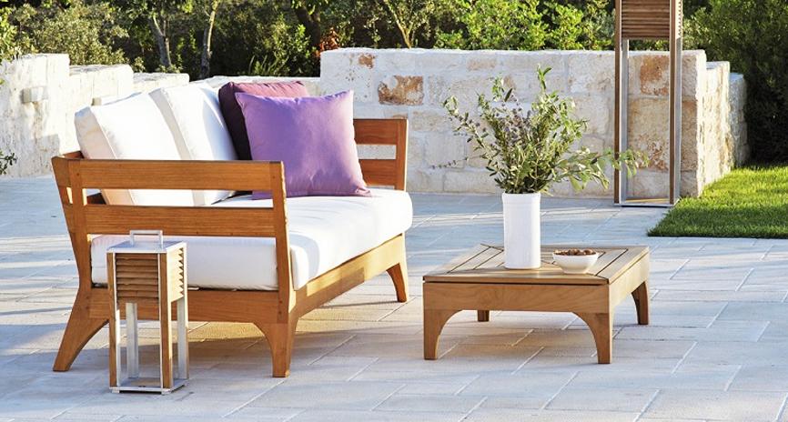 Дървени градински мебели