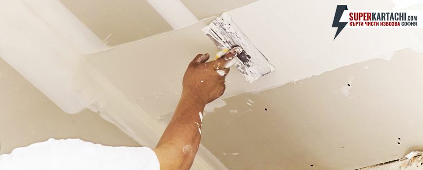 ремонт на таван
