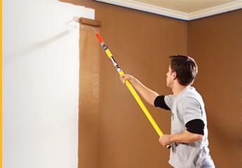 боядисване на стена