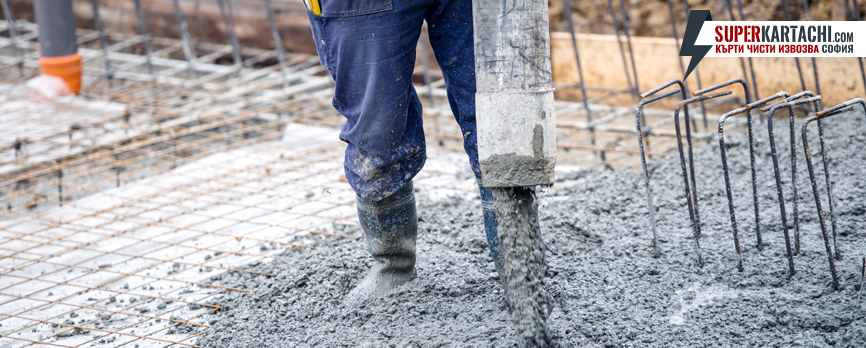 леене на бетон
