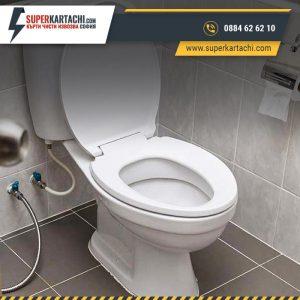монтаж на тоалетна